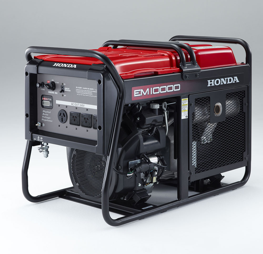 The NEW Honda EM10000 Generator has landed!